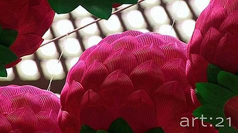 Production still © Art21, Inc. 2009 Art in the Twenty-First Century Season 5 | Episode 4: Systems