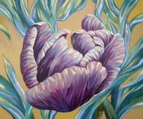 metal tulip