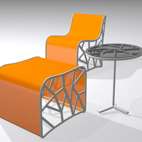 """Modern outdoor furniture collection"" contest"