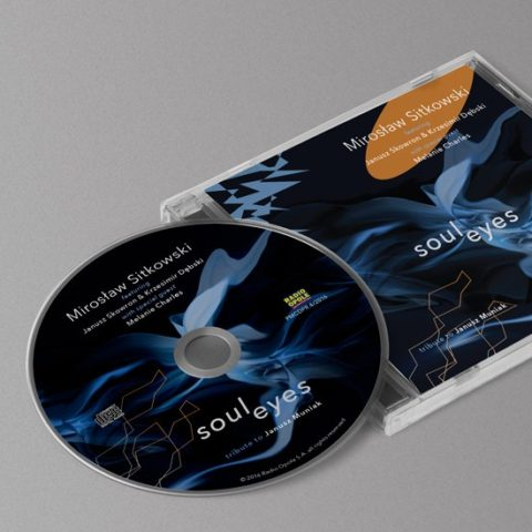 Miroslaw Sitkowski 'Soul eyes' – CD cover design