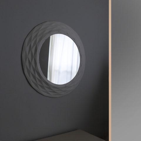 'Paper moon' mirror